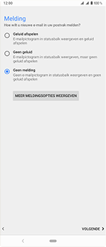 Sony Xperia 1 - E-mail - handmatig instellen - Stap 21