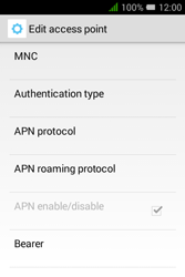 Alcatel Pixi 3 (3.5) - MMS - Manual configuration - Step 15