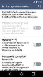 LG K4 - Internet et connexion - Partager votre connexion en Wi-Fi - Étape 5