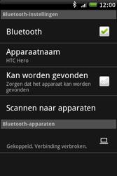 HTC A6262 Hero - bluetooth - headset, carkit verbinding - stap 9