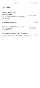 Huawei P40 Pro - Internet et connexion - Utiliser le mode modem par USB - Étape 6