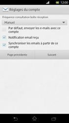 Sony Xperia T - E-mail - Configuration manuelle - Étape 14