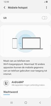 Samsung galaxy-s9-sm-g960f-android-pie - WiFi - Mobiele hotspot instellen - Stap 8