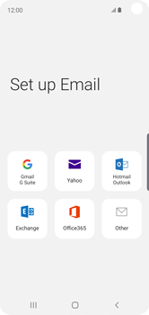 Samsung Galaxy S10e - E-mail - 032c. Email wizard - Outlook - Step 6