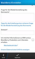 BlackBerry Z10 - Apps - Einrichten des App Stores - Schritt 12