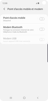 Samsung Galaxy S10e - WiFi - Comment activer un point d'accès WiFi - Étape 6