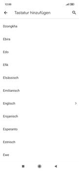 Xiaomi RedMi Note 7 - Startanleitung - So fügen Sie eine Tastatursprache hinzu - Schritt 8