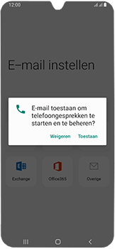 Samsung Galaxy A40 - E-mail - Handmatig instellen (outlook) - Stap 11
