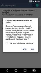LG LG K8 - Internet et connexion - Partager votre connexion en Wi-Fi - Étape 11
