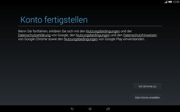 Sony Xperia Tablet Z2 LTE - Apps - Einrichten des App Stores - Schritt 16