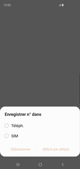 Samsung Galaxy S10 - Contact, Appels, SMS/MMS - Ajouter un contact - Étape 5