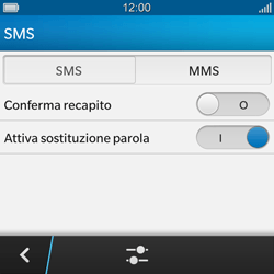 BlackBerry Q10 - MMS - Configurazione manuale - Fase 6