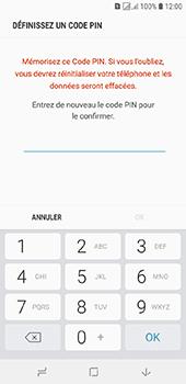Samsung Galaxy J6 - Sécuriser votre mobile - Activer le code de verrouillage - Étape 9