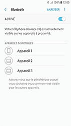 Samsung Galaxy J3 (2017) - Internet et connexion - Connexion avec un équipement multimédia via Bluetooth - Étape 8