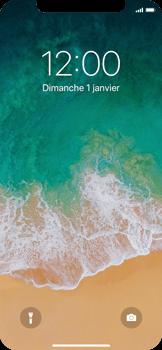 Apple iPhone X - Téléphone mobile - Comment effectuer une réinitialisation logicielle - Étape 4