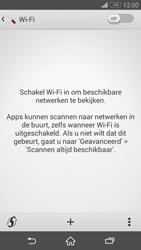Sony Xperia Z3 Compact - wifi - handmatig instellen - stap 5