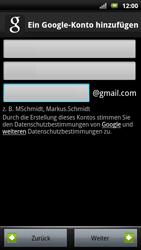 Sony Ericsson Xperia X10 - Apps - Konto anlegen und einrichten - Schritt 7