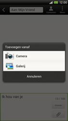 HTC S720e One X - MMS - afbeeldingen verzenden - Stap 9