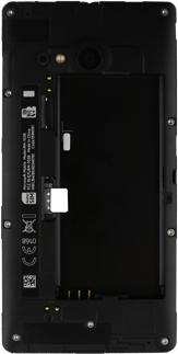 Nokia Lumia 735 - SIM-Karte - Einlegen - Schritt 3