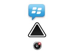 BlackBerry 9720 - Premiers pas - Comprendre les icônes affichés - Étape 7
