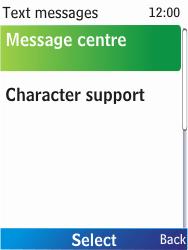 Nokia X2-00 - SMS - Manual configuration - Step 7