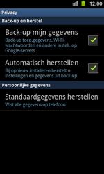 Samsung I9100 Galaxy S II - toestel resetten - fabrieksinstellingen terugzetten - stap 5