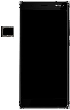 Nokia 5.1 - Appareil - comment insérer une carte SIM - Étape 9