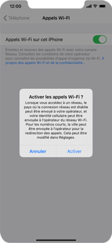 Apple iPhone 11 - WiFi - Activez WiFi Calling - Étape 7