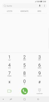 Samsung Galaxy S8 Plus - Anrufe - Rufumleitungen setzen und löschen - 0 / 0