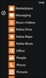 Nokia Lumia 800 / Lumia 900 - Applications - Installing applications - Step 4