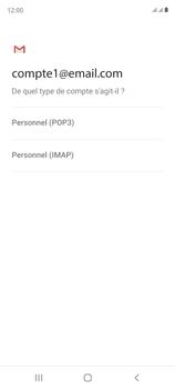 Samsung Galaxy S20 FE - E-mails - Ajouter ou modifier un compte e-mail - Étape 11