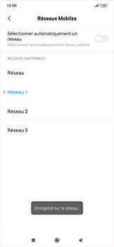 Xiaomi RedMi Note 7 - Réseau - Sélection manuelle du réseau - Étape 13