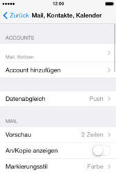 Apple iPhone 4 S - E-Mail - Konto einrichten - 15 / 29