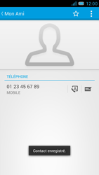 Bouygues Telecom Bs 471 - Contact, Appels, SMS/MMS - Ajouter un contact - Étape 7