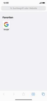 Apple iPhone X - iOS 14 - Internet und Datenroaming - Verwenden des Internets - Schritt 13