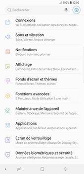 Samsung Galaxy Note9 - Internet et roaming de données - Comment vérifier que la connexion des données est activée - Étape 4