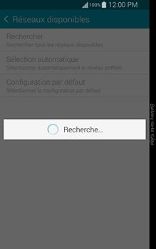 Samsung Galaxy Note Edge - Réseau - Sélection manuelle du réseau - Étape 8