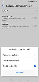 Huawei P20 lite - Internet et connexion - Utiliser le mode modem par USB - Étape 6