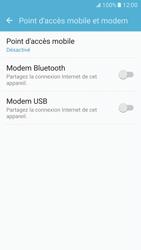Samsung Galaxy S7 - Internet et connexion - Utiliser le mode modem par USB - Étape 7