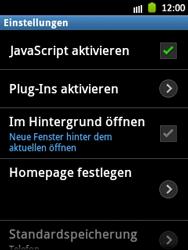 Samsung Galaxy Pocket - Internet und Datenroaming - Manuelle Konfiguration - Schritt 19