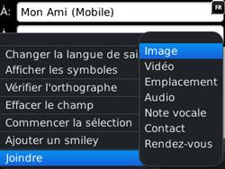 BlackBerry 9320 - Contact, Appels, SMS/MMS - Envoyer un MMS - Étape 10