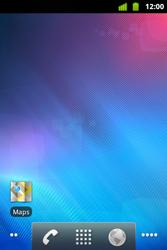 Alcatel OT-983 - Operazioni iniziali - Installazione di widget e applicazioni nella schermata iniziale - Fase 8