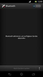 Sony Xperia T - Bluetooth - Verbinden von Geräten - Schritt 5