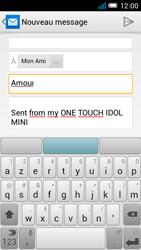 Alcatel OT-6012X Idol Mini - E-mail - envoi d