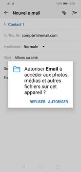 Huawei Y5 (2019) - E-mail - envoyer un e-mail - Étape 11