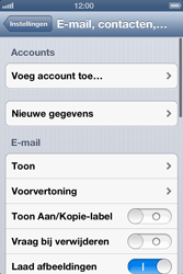 Apple iPhone 4 - E-mail - Handmatig instellen - Stap 4