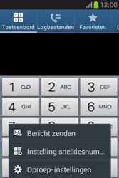 Samsung S6810P Galaxy Fame - Voicemail - handmatig instellen - Stap 6