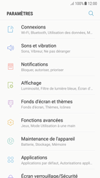 Samsung A320F Galaxy A3 (2017) - Android Nougat - Wi-Fi - Accéder au réseau Wi-Fi - Étape 4