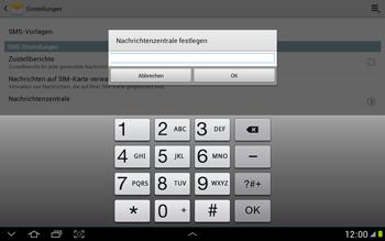 Samsung N8000 Galaxy Note 10-1 - SMS - Manuelle Konfiguration - Schritt 6