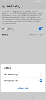 Huawei P30 Pro - WiFi - WiFi Calling aktivieren - Schritt 10